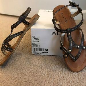 EUC maybe worn twice Aldo stanaway sandals